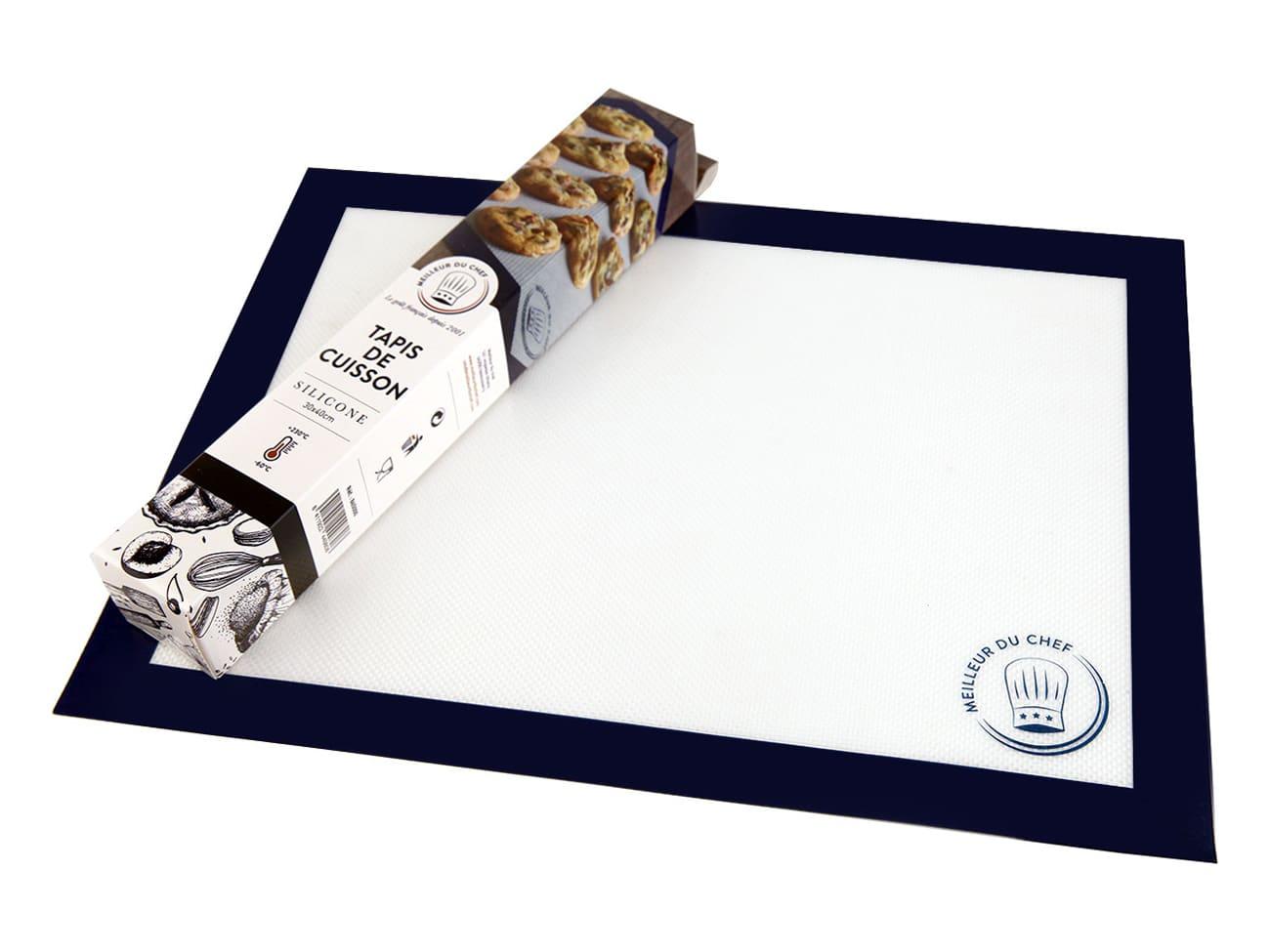tapis de cuisson silicone 40 x 30 cm meilleur du chef