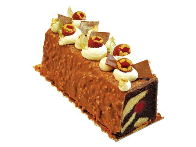 moule a cake inox avec insert tube 25 x 8 x 8 cm mallard ferriere