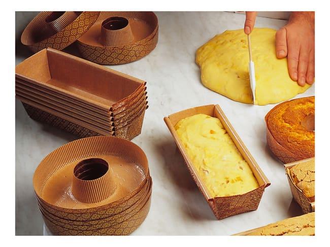 moule a cake en papier x 50 15 x 6 5 cm mallard ferriere