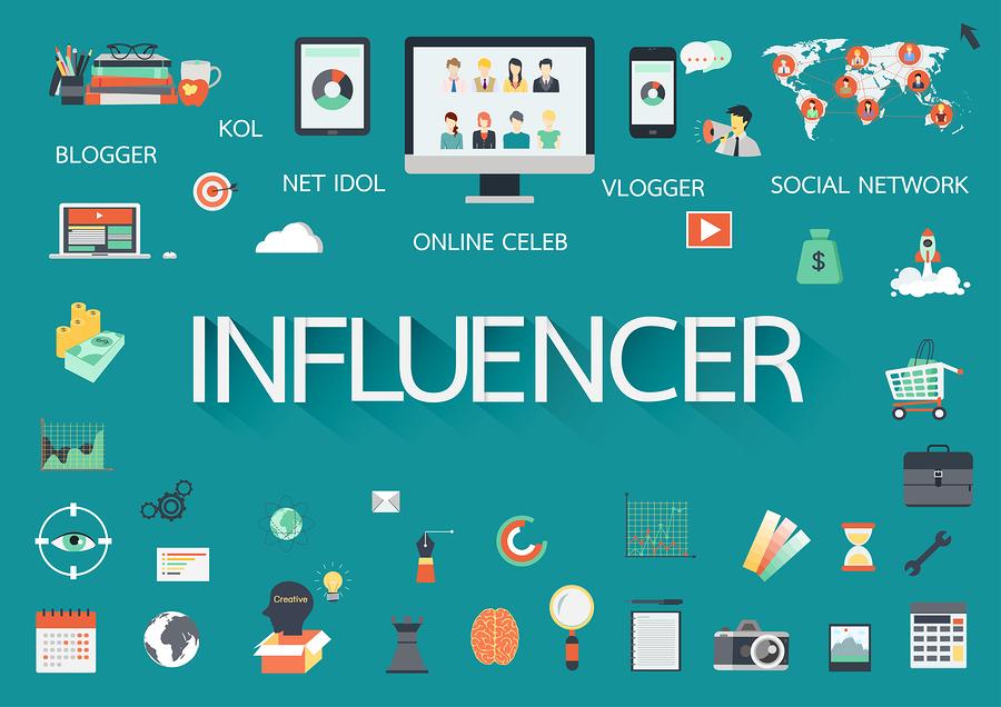 Influencer en instagram y redes sociales