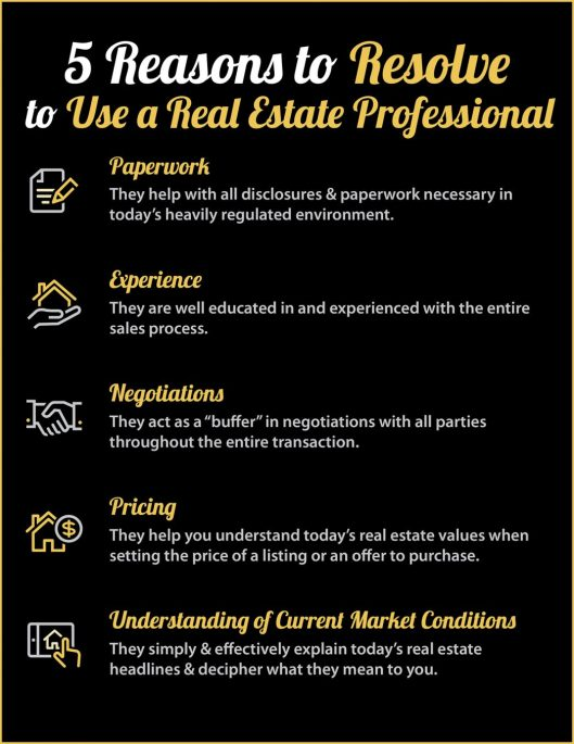 Buying or Selling in 2018? 5 Reasons to Resolve to Hire a Pro [INFOGRAPHIC] | MyKCM
