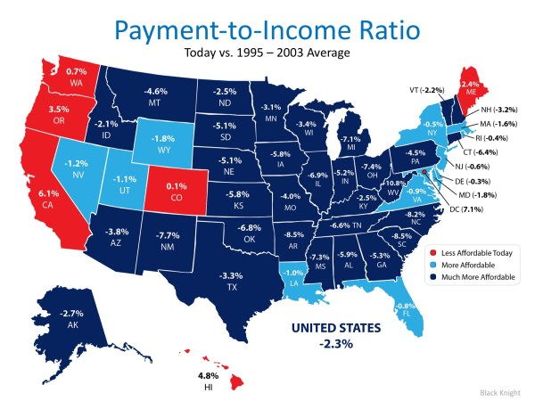 Homes are More Affordable in 44 out of 50 States | MyKCM