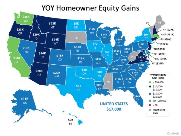 Homeowner Equity Increases an Astonishing $1 Trillion | MyKCM