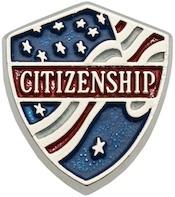 American Citizenship Award pin