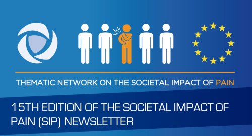 10TH EDITION OF THE SOCIETAL IMPACT OF PAIN (SIP) NEWSLETTER