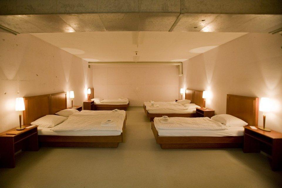 Bunker reconvertido a hotel