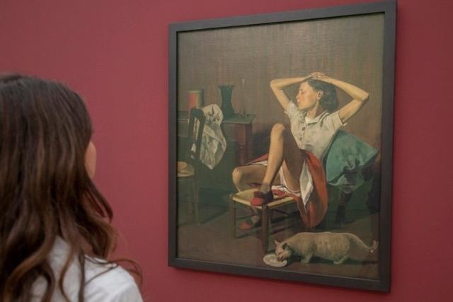 En dehors de France et des Etats-Unis, les expositions concernant Balthus sont rares.