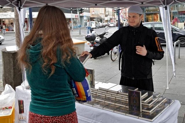 Walter Wobmann ne veut pas voir ce genre de stand dans les rues en Suisse.
