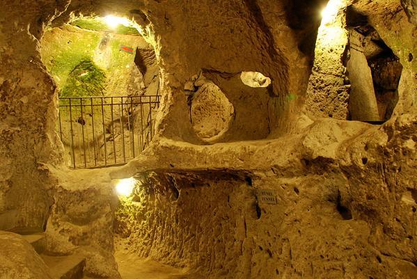 Resultado de imagen de sótano turquia