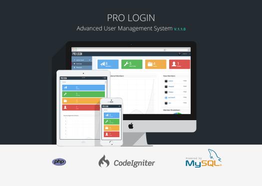 Pro Login Content - CMS Secure User Management System - 1