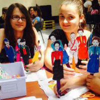 Participants of the first Let Girls Learn funded GLOW Camp in Albania