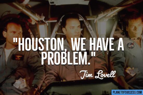 Apollo 13 movie quote