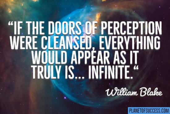 The doors of perception quote