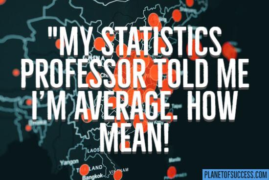 Statistics professor