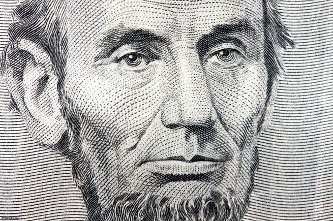 abraham lincoln five dollar portrait other