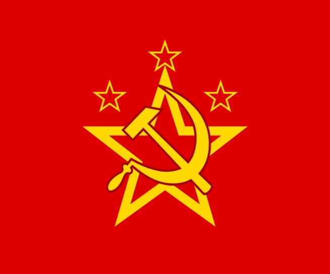 flag of the warsaw pact by schneerf d5c5nwn