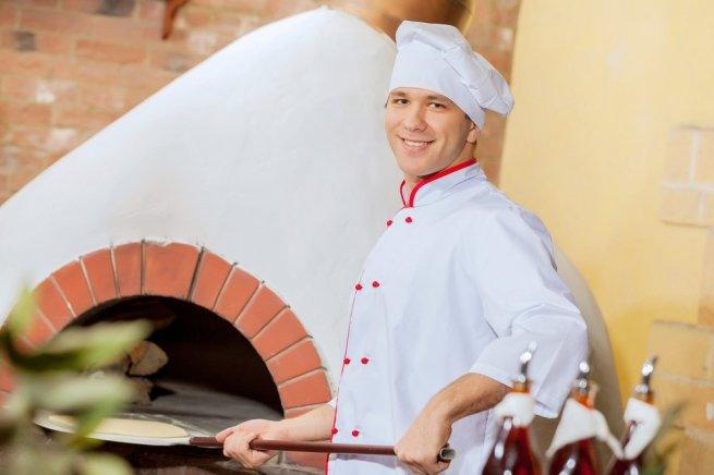 4 pizza chef