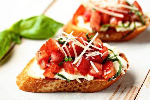 Garlic Tomato Bruschetta2 1 of 1
