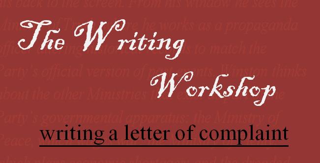 letter of complaint1