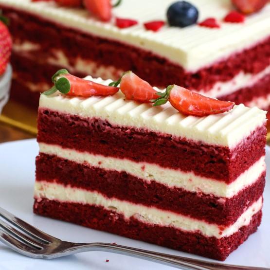 red velvet birthday cake delivery