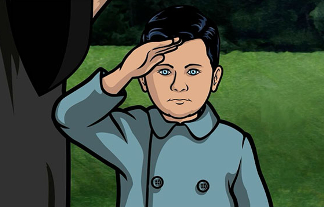 Archer as a kid