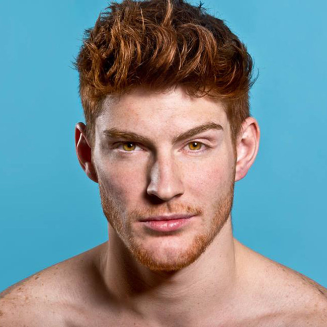 Sexy redheaded men