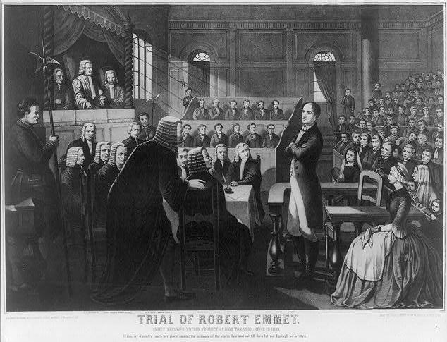 Robert Emmet   Trial