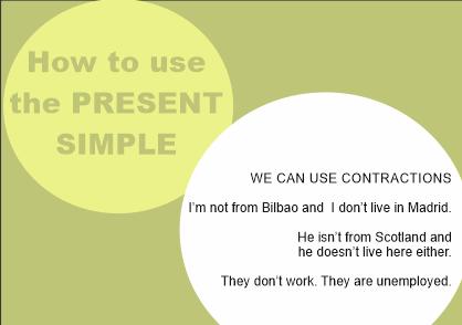 present simple9