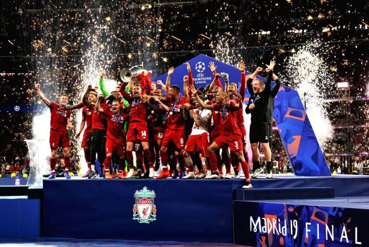 SPAIN-MADRID-UEFA CHAMPIONS LEAGUE-FINAL-LIVERPOOL VS HOTSPUR