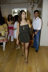 Kim Sharma at Surily Goel's IPL collection launch at Ensemble.
