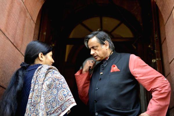 Parliament - Shashi Tharoor, Anupriya Patel