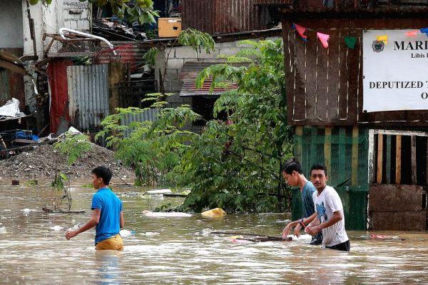PHILIPPINES-MARIKINA-HEAVY RAIN-FLOODS