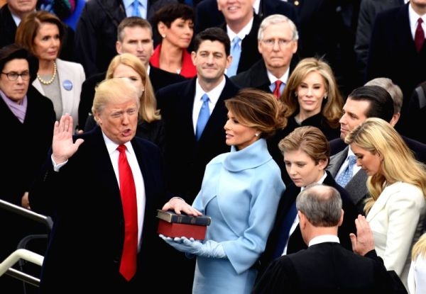 U.S.-WASHINGTON D.C.-PRESIDENT-INAUGURATION CEREMONY ...