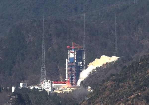 CHINA-XICHANG-SATELLITE-LAUNCH