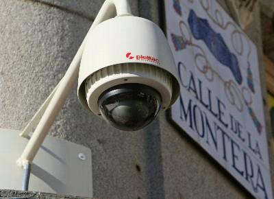Siete de cada 10 ciudadanos a favor de la videovigilancia en lugares públicos