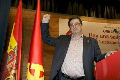 José L. Centellas. El andaluz elegido Secretario General de PCE
