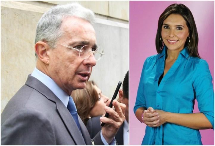 Uribe ataca en Twitter a la presentadora Mónica Rodríguez | RCN Radio
