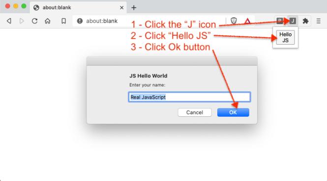 JS Chrome Extension