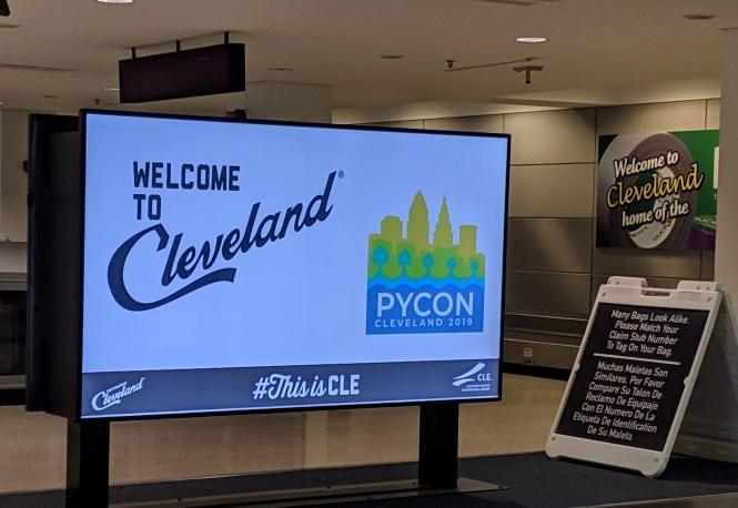 Bienvenue à Cleveland PyCon 2019