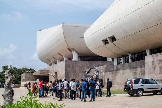 Les délégués de PyCon Africa en tournée à Accra