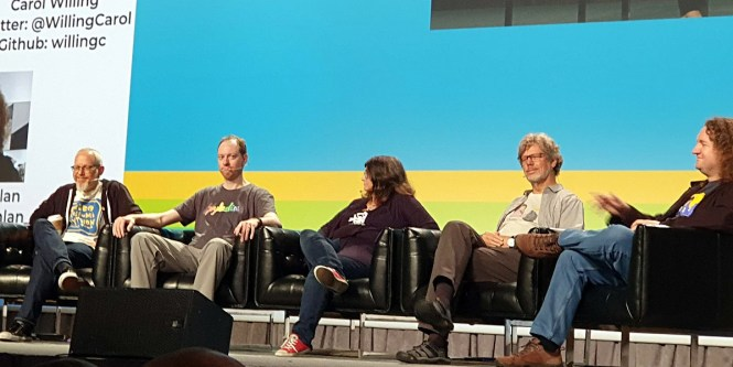 Le comité de pilotage Python à la conférence PyCon 2019