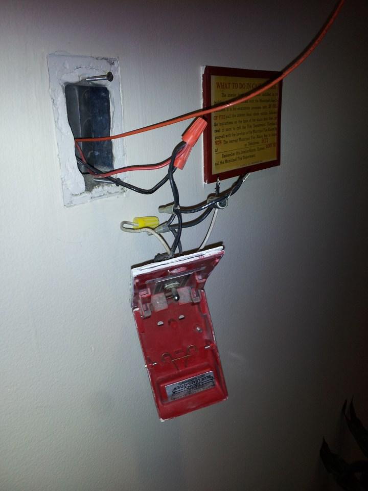 Fire Alarm Strobe Light Wiring