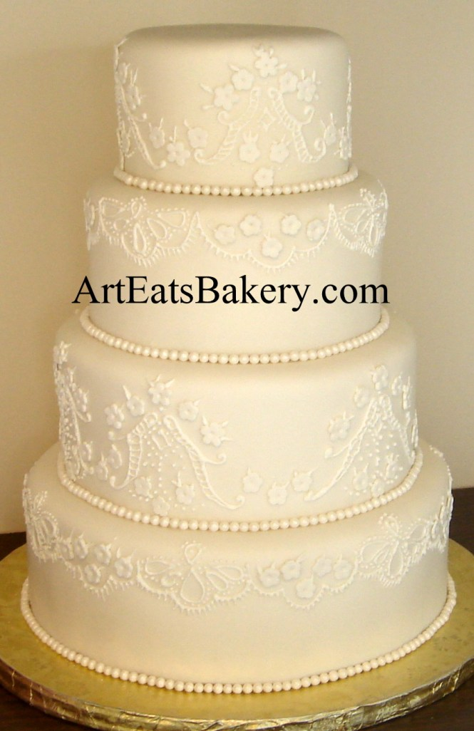 Elegant Wedding Cake Pictures On Cakes With Clic And 18