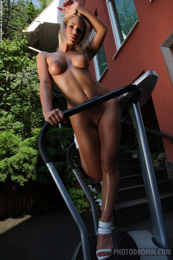 Orsy, blonde, strip, nude, bikini, ass, busty