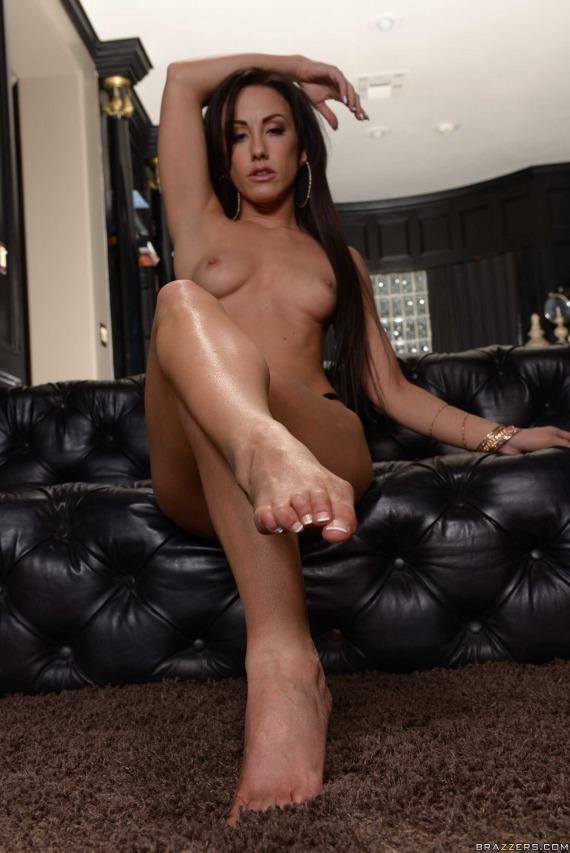 Jennifer White, brunette, topless, strip, ass