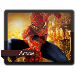 Action 1 Icon - Genres Movies Icons - SoftIcons.com
