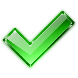 Actions Button Ok Icon - Crystal Project Icons - SoftIcons.com