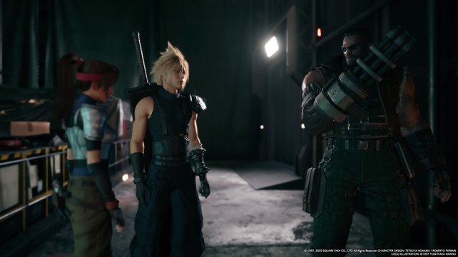 Just as in the Original, you fight in Final Fantasy 7, the Story of a group of rebels who want to topple the world domination of the organization.