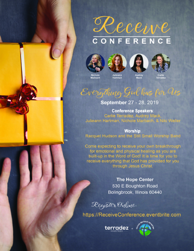 Receive Conference September 27 - 28th, 2019