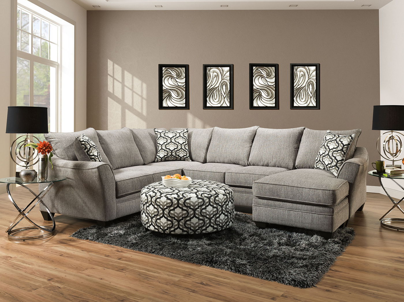 moore 2 pc sectional steinhafels